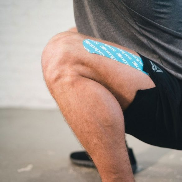 Compex Sport Tape Fekete