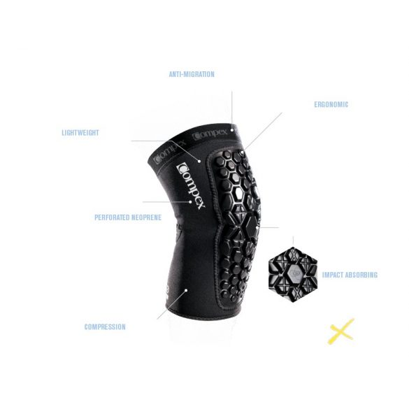 Compex Defender Ütéselnyelő Térd Rögzítő (2 DB)